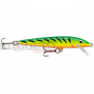 Воблер Rapala Floating Originall 7см 4гр F07-FT