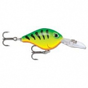 Воблер Rapala Ultra Light Crank 3см 4гр ULC03-FT