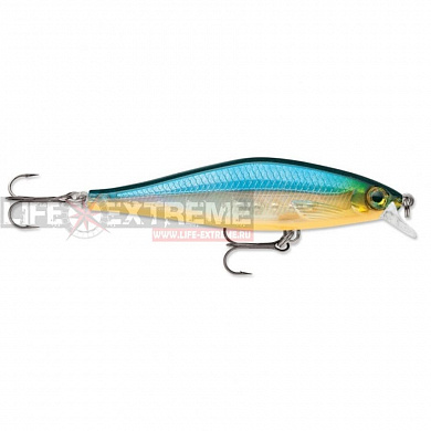Воблер Rapala Shadow Rap Shad 9см 10гр SDRS09-BGH