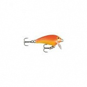 Воблер Rapala Mini Fat Rap 3см 4гр MFR03-GFR
