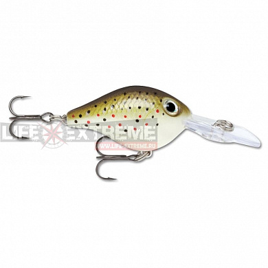Воблер Rapala Ultra Light Crank 3см 4гр ULC03-TR