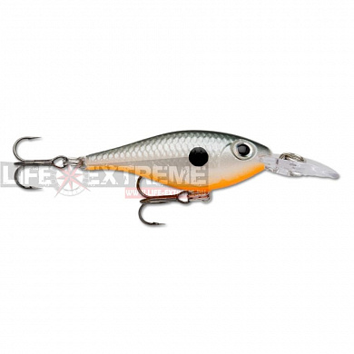 Воблер Rapala Ultra Light Shad 4см 3гр ULS04-ORSD