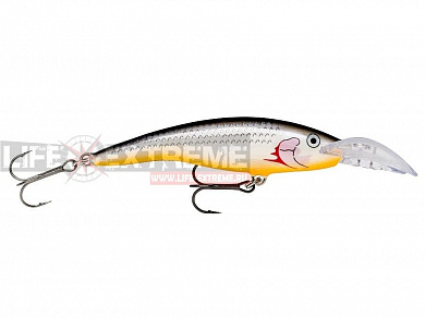 Воблер Rapala Scatter Rap Tail Dancer 9см 13гр SCRTD09-SSH