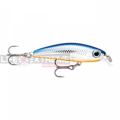 Воблер Rapala Ultra Light Minnow 6см 4гр ULM06-SB