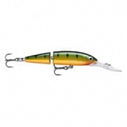 Воблер Rapala Jointed Deep Husky Jerk 8см 5гр JDHJ08-P